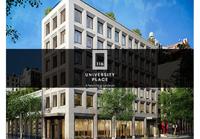 116 UNIVERSITY PLACE | A New Village Landmark